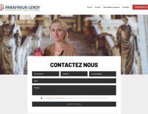 Site web de Maître Iwona Parafiniuk - Leroy